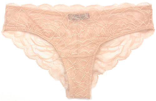 ALL LACE ROSES BRIEF LATTE