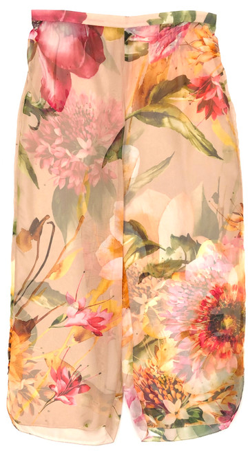 LIFESTYLE SHEER CROPPED PANT PRINTED CAMILLE