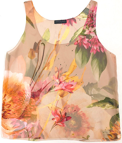 LIFESTYLE PRINTED TANK CAMILLE