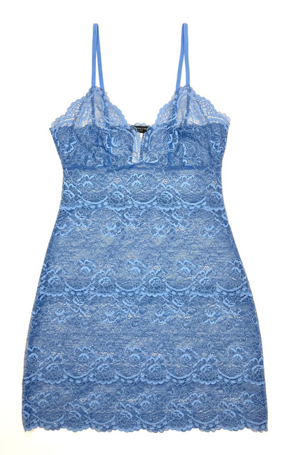ALL LACE CLASSIC FULL SLIP OXFORD BLUE