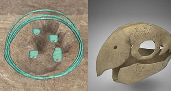 3d models of actual anasazi artifacts players can dig for