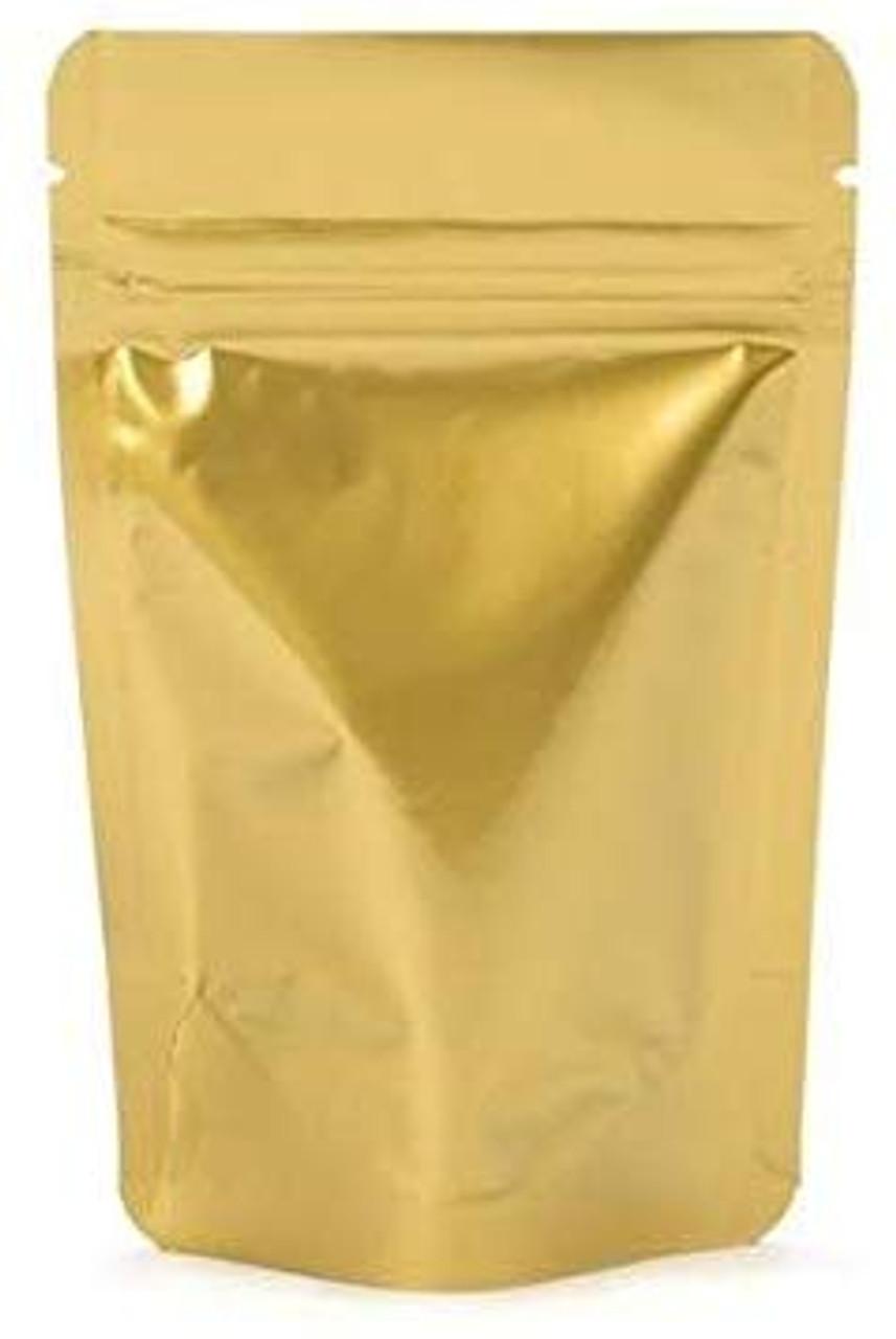 "100 pack 5/"" x 5/"" Resealable Zipper Bag Clear Plastic 2 Mil zip lock closure"