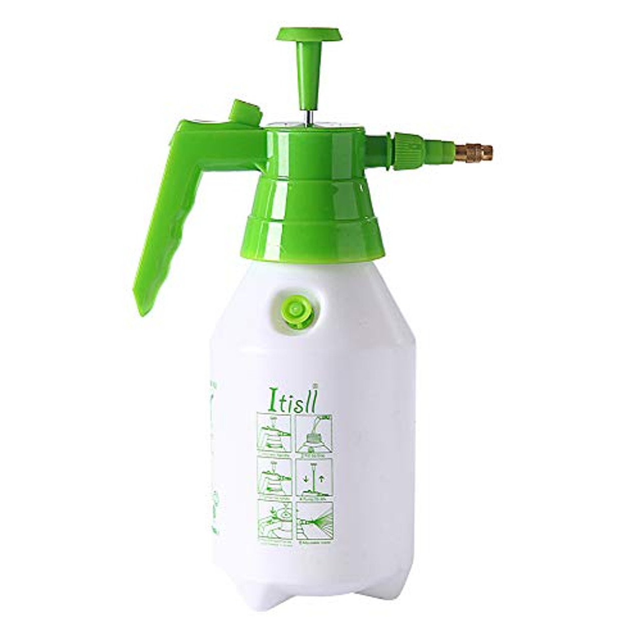 Manual Spray Bottle Adjustable Nozzle Hand Pressure Plastic Trigger Sprayers