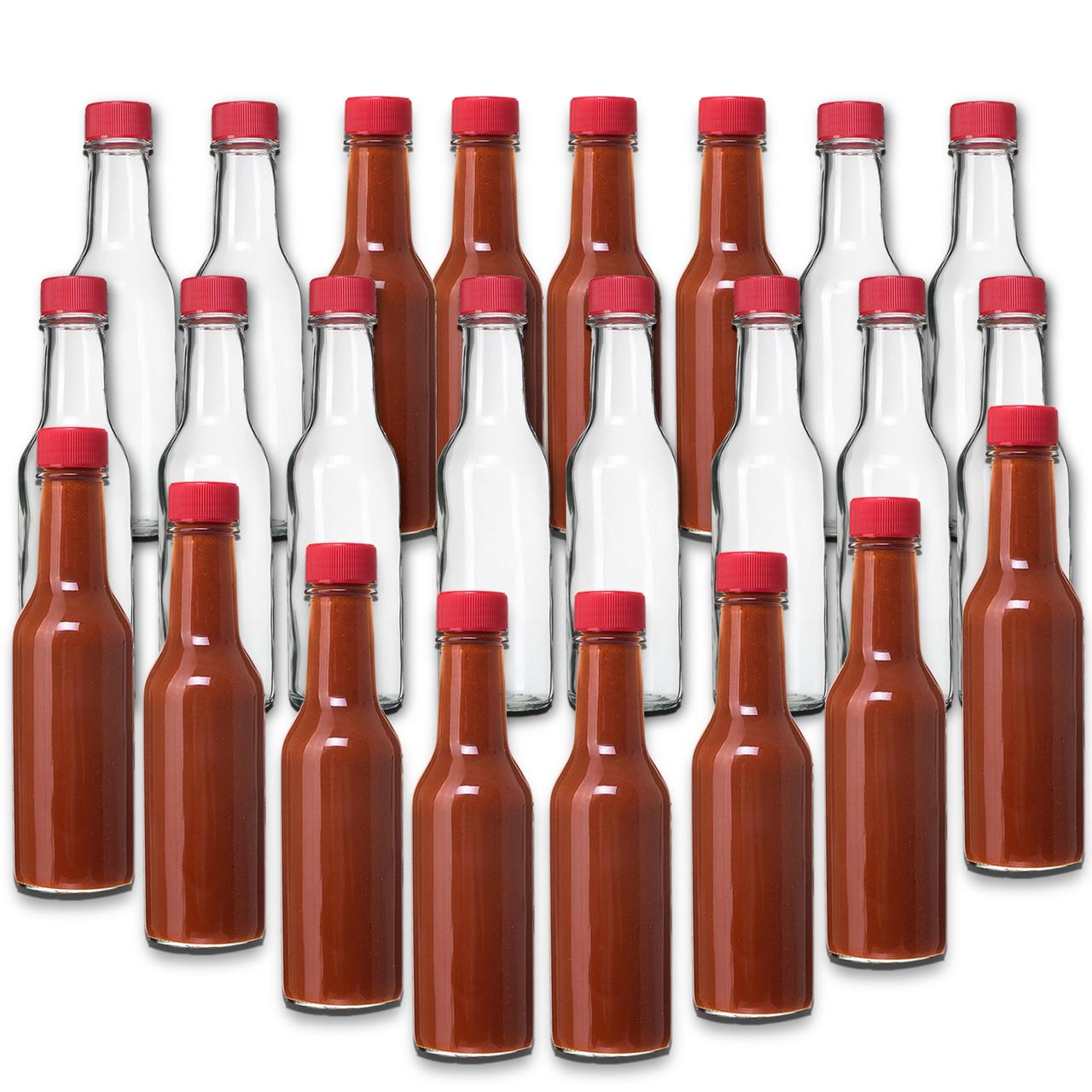 Screw Caps for 5oz Woozy Bottles Pack of 30 by nicebottles.com