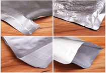 "Aluminum Foil Packaging Bag 3"" x 4.5"" Heat Seal Foil Vacuum Bag 3 Sides Sealed Storage Bag"