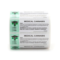 1000 pcs, Generic Medical  Labels ROLL Compliant Sticker (new design)