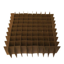Only Partitions dividers with 64 Cells boxes (Fits 64 - 120ml, 4 oz Bottles) - Set of 40