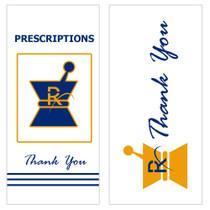 Kraft Pharmacy Prescription Bags (small) - 2,000 Count