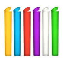 Blunt And Cone Tubes 116mm - Assorted Colors - 100 Count