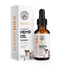 NRG Organic Oil for Dogs & Cats, Max Potency - Made in USA