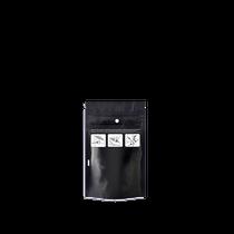 DymaPak Child Resistant Black Mylar Bag 1/8 Ounce - 1000 Count
