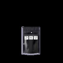 1000 Black 3.62″ x 5.86″ Child Resistant Pouches
