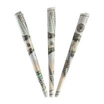 Benji Vegan Rolling Paper $100 Bill Pre Rolled Cones - 24 Count