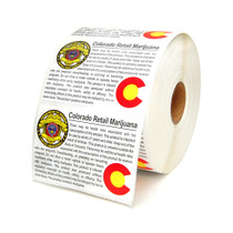 Colorado Compliant Labels - Retail - 1000 Count