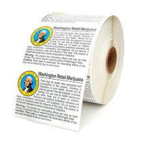 Washington Compliant Labels - Retail - 1 Roll