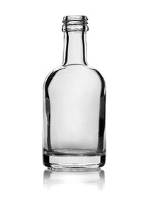 (Pk of 120) 50ml Glass Nordic Bottle 18mm Screw Top