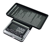 American Weigh Chrome Digital Pocket Scale, 200g by 0.01gm PackageQuantity: 1 Style: Chrome/Black, Model: CHROME