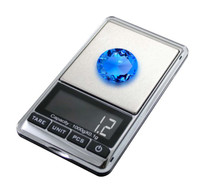 American Weigh Scales HP Series Precision Digital Pocket Weight Scale, Chrome 1000g x 0.1G