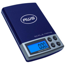 American Weigh Scale Scalemate Series Dual Range Digital Pocket Scale, Blue 500G X 0.01G