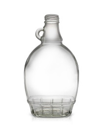 8 oz Glass Syrup Bottle 28mm pack of 24