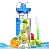Fruit Infuser Water Bottle 32 oz: Flavored Water & Tea Infusion for Hydration