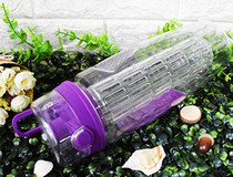 Fruit Infuser Water Bottle 32 oz: Flavored Water & Tea Infusion for Hydration -Purple