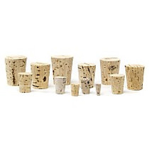1 Dram Patent Lip Vials with Corks- Tray of 144