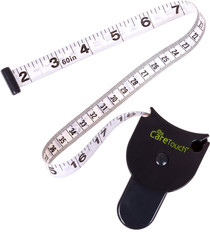 Care Touch Skinfold Body Fat Measuring Tape