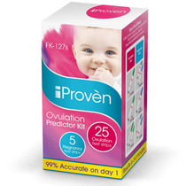 Best Ovulation Predictor Kit - 25 Ovulation Test Strips and 5 Pregnancy Test Strips - Fertility Test for Women - for Trying to Conceive Couples - Ovulation Tests for Women - FK-127s 2020