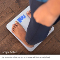 GreaterGoods Digital Body Fat Weight Scale, Body Composition, BMI, Muscle Mass & Water Weight
