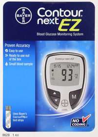 Bayer Contour Next Ez Blood Glucose Monitoring Kit
