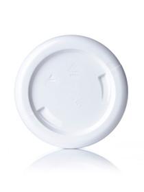 ($.39 ea) 2 oz white PET single wall jar with 58-400 neck finish- Case of 500