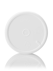 ($.25 ea) 2 oz white PP single wall jar with 53-400 neck finish- Case of 441