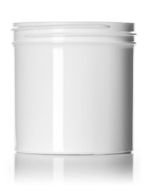 ($.37 ea) 6 oz white PP single wall jar with 70-400 neck finish-Case of 270