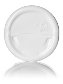($.41 ea) 6 oz white HDPE single wall jar with 70-400 neck finish- Case of 400