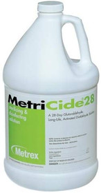 Metrex 10-2800 MetriCide 28 High-Level Disinfectant/Sterilant, 1 gal Capacity