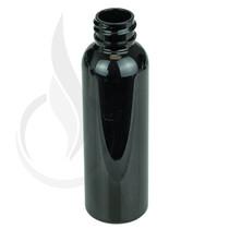 2 oz Black Plastic Cosmo PET Bottle 20 neck finish - w/ 20 -410 neck case of 1230