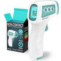 Non Contact Thermometer - Safe and Hygienic - With Infrared Technology - Fever Indication and Silent Mode