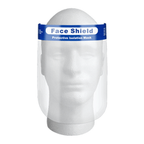 Dentac 906000 UltraFace PPE Protective Barrier Anti-Fog Face Shield Mask