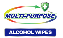 Germisept XL Multi-Purpose Alcohol Sanitizing Wipes Enriched with Aloe Vera -50 Wipe Packs