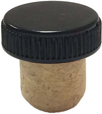 19.5mm Smooth Bar Top Beige Cork- Pack of 50