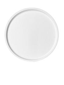 White PVC 70 mm sealing disc - Pack of 500