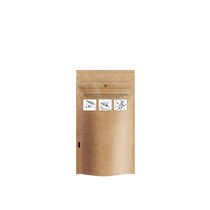 DymaPak Child Resistant Kraft Mylar Bag 1/4 Ounce - 1000 Count