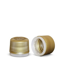 18mmGold Tamper-Evident Cap- Pack of 12