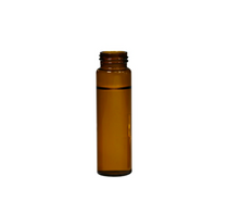 Screw Top 8mm Amber Glass 1.5mL HPLC Autosampler Vials - Economy Set of 500