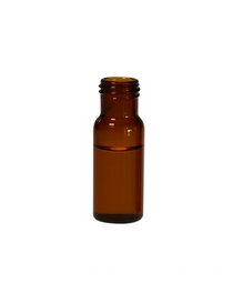 Short Thread 9mm Amber Type 1 Glass 1.5mL HPLC Autosampler Vials w/ Writing Patch - Pack of 300
