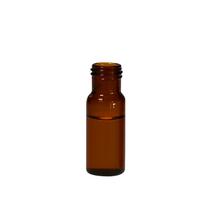 Screw Top 15mm Amber Glass 12mL Sample Vials - Pack of 300