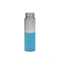 Screw Top 18mm Clear Glass 20mL Headspace GC Autosampler Vials w/ Round Bottom - Pack of 200