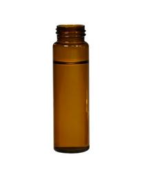 Screw Top 24mm Amber Glass 60mL EPA Autosampler Vials - Pack of 100