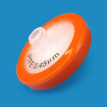 PTFE Syringe Filters, 0.45 um, 30mm, Luer-Lok/Luer Slip, Nonsterile, 100 per pack